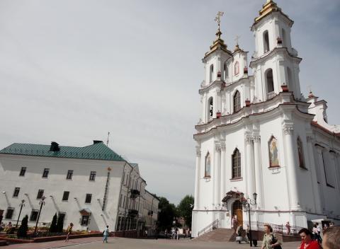 Кафе в историческом центре города Витебск, Беларусь. - Фото 5