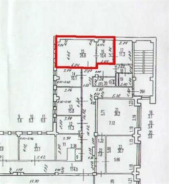 Сдам офисное помещение 37 кв.м, м. Московская - Фото 2