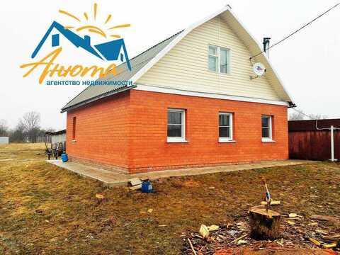 Продается кирпичный дом В деревне около Балабаново. - Фото 1