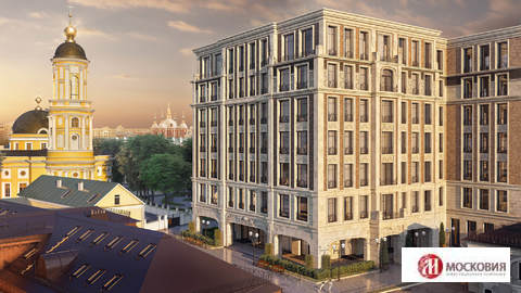 Продается двухкомнатная квартира в Москве, 77,4 м2, Большая Ордынка - Фото 1