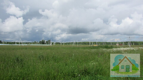 Участок в коттеджном поселке, рядом с озером - Фото 3