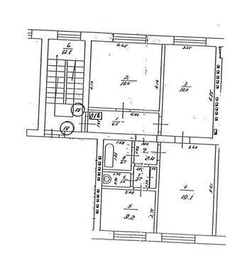 169 000 €, Продажа квартиры, Купить квартиру Рига, Латвия по недорогой цене, ID объекта - 313138871 - Фото 1