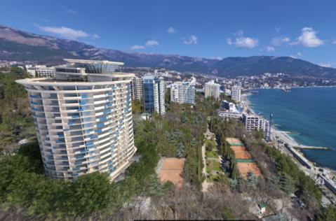 Ялта, парк, Море, Акция на апартаменты, продажа. - Фото 1