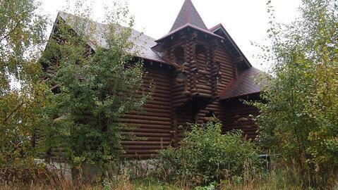 Деревянный дом 300 кв.м под отделку д.Мышецкое у озера - Фото 1