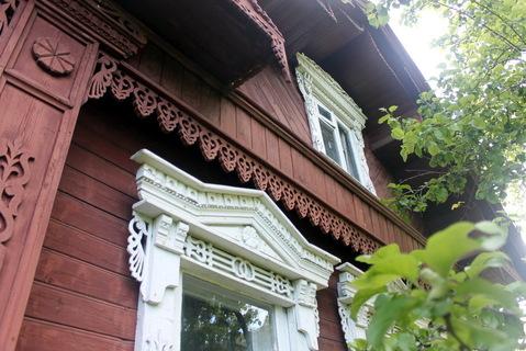 Добротный ухоженный дом из бревна с печным отоплением - Фото 1