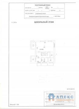 Продажа магазина пл. 109 м2 м. Проспект Вернадского в жилом доме в . - Фото 3