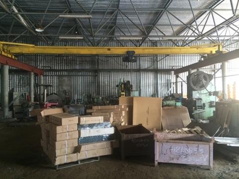 Аренда производственного помещения 1800 м2 с кран-балкой 5 тон - Фото 5