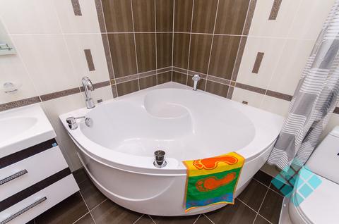 1-комнатная посуточно с угловой ванной в новом доме на Невзоровых - Фото 3