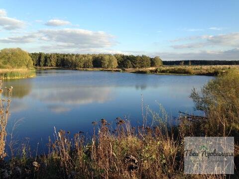 Участок у озера 12 соток в селе Ивановское Ступинского района - Фото 1
