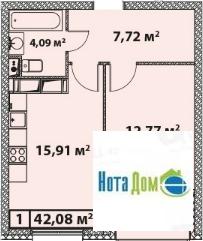 Продаётся 1-комнатная квартира по адресу Старокрымская 15к2 - Фото 5