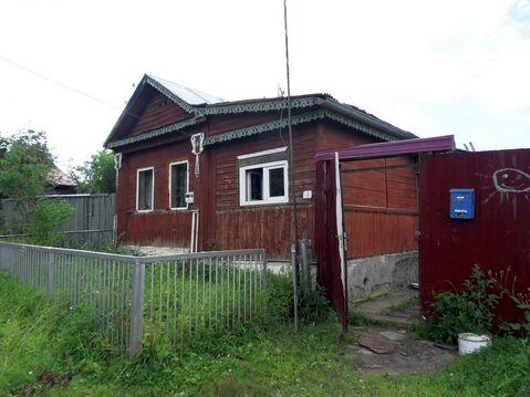 Бревенчатый дом с газовым отоплением и баней в городе Кохма. - Фото 1