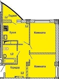 Выгодное предложение В новостройке. продажа квартиры от подрядчика. - Фото 1