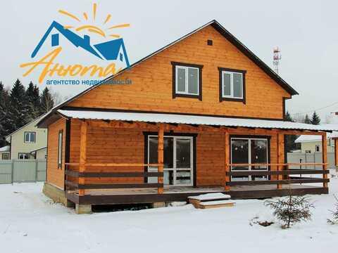 Новый дом с пропиской в деревне на берегу озера в калужской области - Фото 2