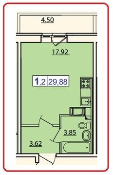 Продажа квартиры, Бугры, Всеволожский район, Тихая - Фото 2