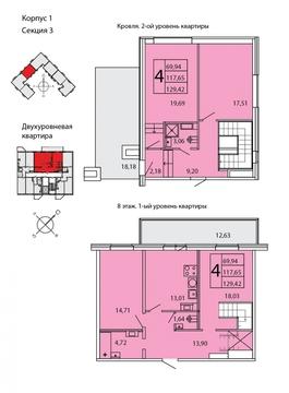 Продам 4к. квартиру. Ленинградское ш. к.1