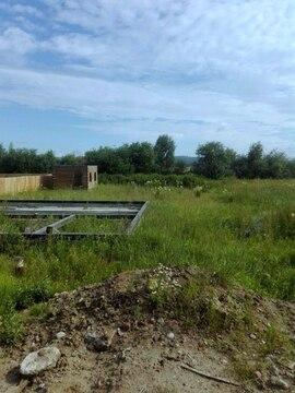 Участок в п. Дзержинск, Иркутский район -свет, вода, фундамент, баня - Фото 1