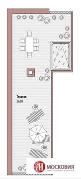 Пентхаус. Два уровня. Камин. Терраса. Центр Москвы. Новослободская - Фото 2