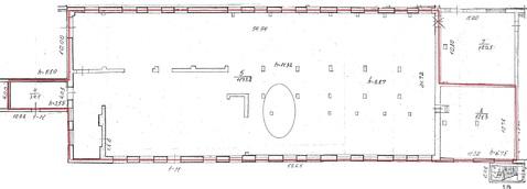 Сдам склад/производство 1эт. 1330м. h=11м. Красное Село - Фото 1