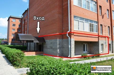 Помещение 100 кв.м. под офис или торговлю в Волоколамске - Фото 1