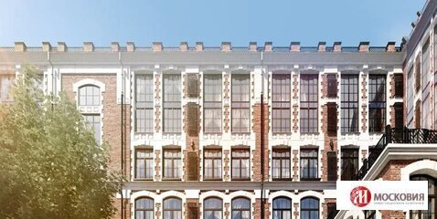 Трехкомнатная квартира. Высота потолка 5,5 м. Лофт. Центр Москвы. - Фото 3