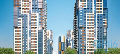 Продажа 1-комнатной квартиры, 37.94 м2 - Фото 1
