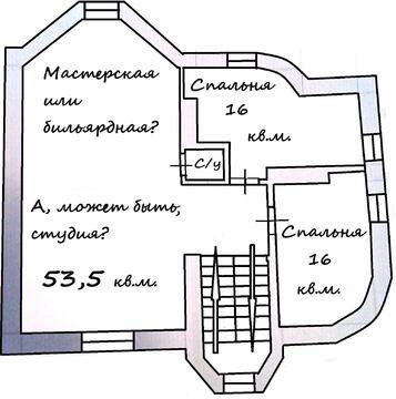 """Дом """"под ключ"""" с дивным садом, 500 кв.м, 12 сот, 7 км от МКАД - Фото 2"""