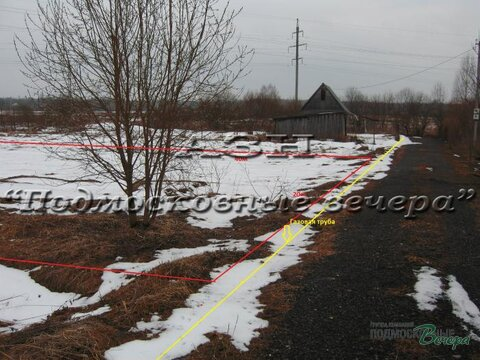 Ленинградское ш. 50 км от МКАД, Солнечногорск, Участок 8 сот. - Фото 1