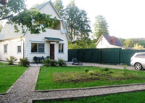 Продается двухэтажная дача 100 кв.м, на участке 6 соток - Фото 1