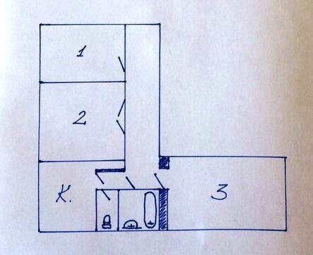 3 ком. квартира, м. Белорусская или м. Динамо, 15 мин пешком - Фото 1