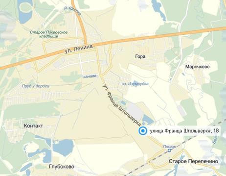 Продается земельный участок промышленного назначения в г.Покров - Фото 3