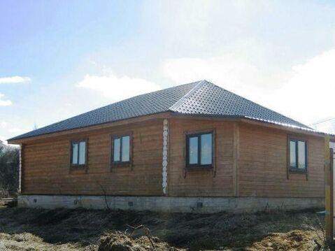 Бревенчатый дом 120кв.м, на 8 сотках земли в СНТ вбл. д.Щелканово - Фото 3