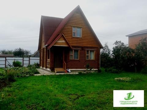 Новый дом из оцилиндрованного бревна в Михалево - Фото 1