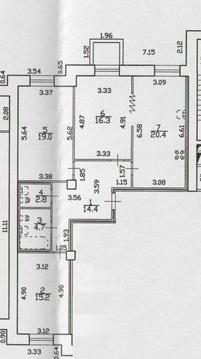 Продается трехкомнатная квартира в новом доме в парке Сосновка - Фото 2