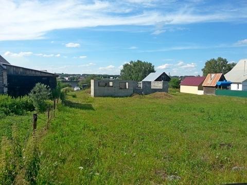 Земельный участок 15 сот. с недостроенным домом в с. Берёзово. - Фото 1