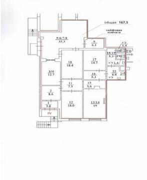 Аренда офиса пл. 167 м2 м. Рижская в жилом доме в Мещанский - Фото 4