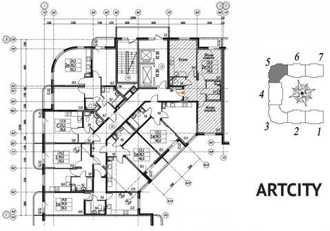Продажа 2-комнатной квартиры, 54.8 м2, ул. Шоссейная, к. корпус 1 - Фото 2