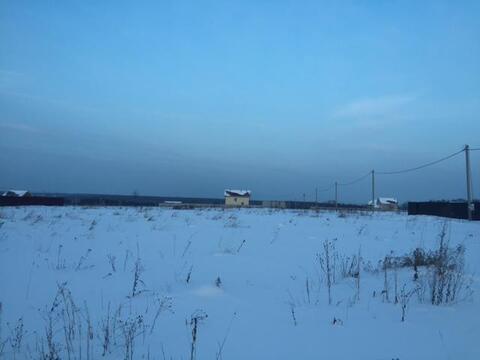 Участок 25 соток, с. Шарапово Чеховский р-н, 55 км от МКАД - Фото 3