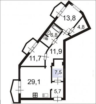 Роскошная квартира в приморском районе. - Фото 4