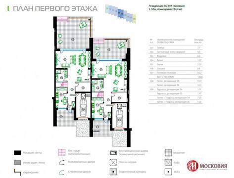Резиденция 215 кв.м. Москва 1 км от МКАД Новорижское шоссе - Фото 5