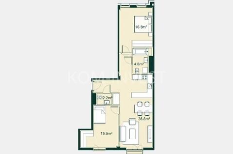 Центр Риги 3-комнатная квартира с ремонтом - Фото 1