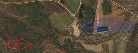 Продается земля 3824 соток, деревня Галкино - Фото 2
