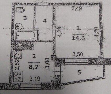1-к квартира на Хар. горе - Фото 2