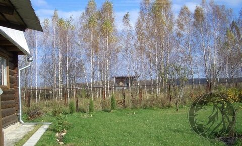 2-этажный бревенчатый дом, деревня Богоявления СНТ Компьютер - Фото 3