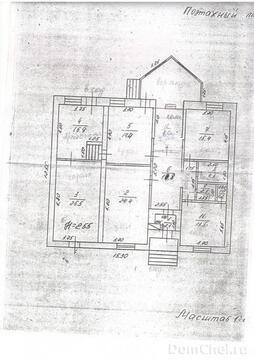 Коттедж одноэтажный 142 кв.м Аргаяшский район, п. Худайбердинский - Фото 5
