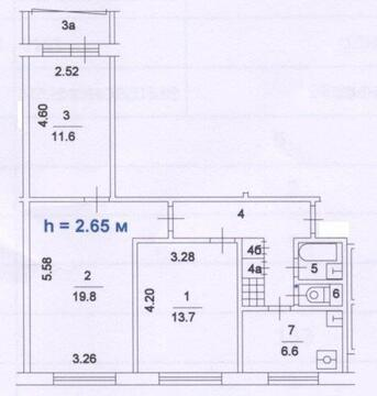 Продаю 3 ком. отличную квартиру в парковой зоне района Фили-Давыдково. - Фото 2