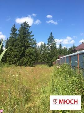 Участок 42 сотки в охраняемом поселке бизнес-класса - Фото 1
