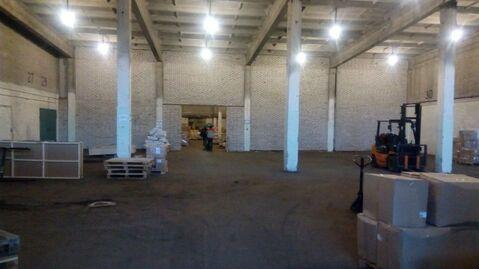 В аренду склад с пандусом 1688 кв.м. Без комиссии - Фото 1