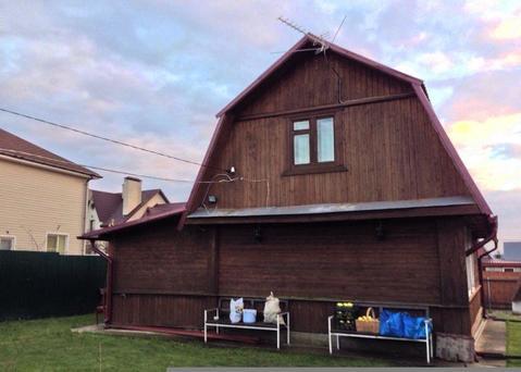 Дом 140 кв.м, 8 сот, 38 км от МКАД. Киевское или Калужское ш. - Фото 1