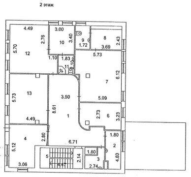 Помещение свободного назначения в бизнес-резиденции 480 кв.м. - Фото 3