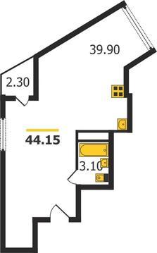 Жилой дом на Кулибина, Владимир, Кулибина ул, д.14, Квартира на .